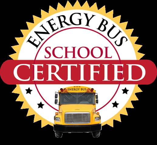 We are a Certified Energy Bus School!